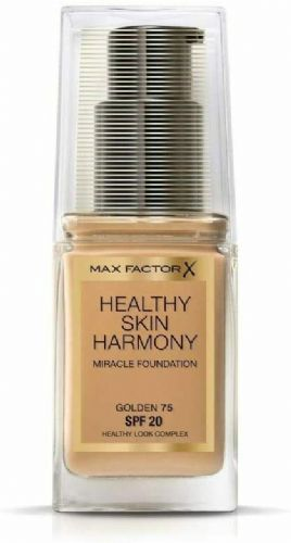 3 x Max Factor Healthy Skin Harmony Foundation | Golden 75 | RRP £45 | Full Size
